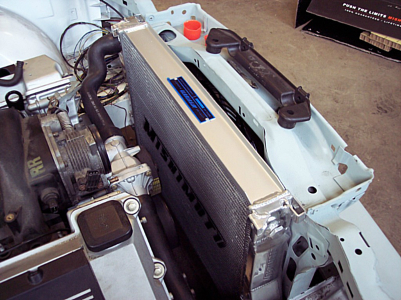Radiator and cooling for M60 / M62 V8 E30 swap and other swaps