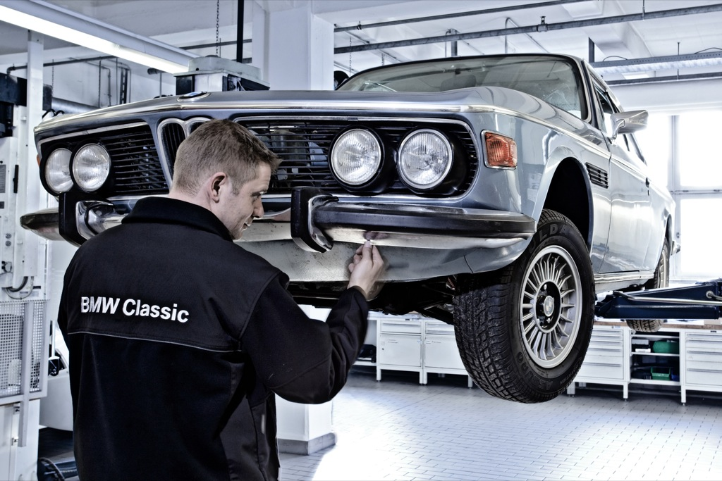 Any enthusiasts dream: Bmw will restore your car to factory fresh goodness