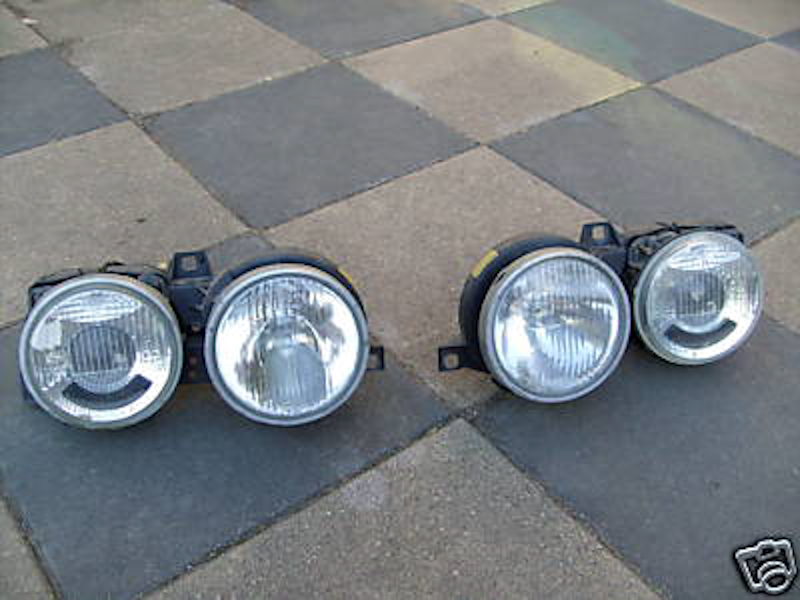 E30 Euro Smiley Conversion (from sealed beams or US ellipsoids)