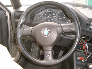 Mtech2 Blackline Steering Wheel