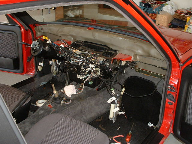 bmw e30 dash swap removal and installation rts your total bmw rh rtsauto com Repaired BMW E30 Dash E30 Interior