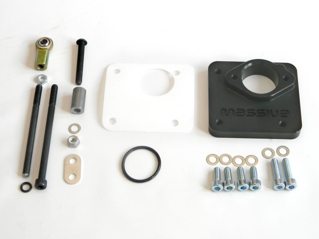 E30 boosterless brake bracket (booster delete) manual brakes