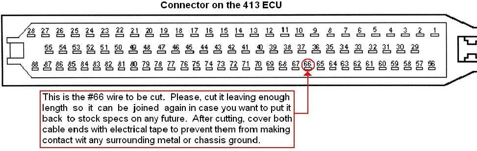 pin 66 404 ECU M60 swap