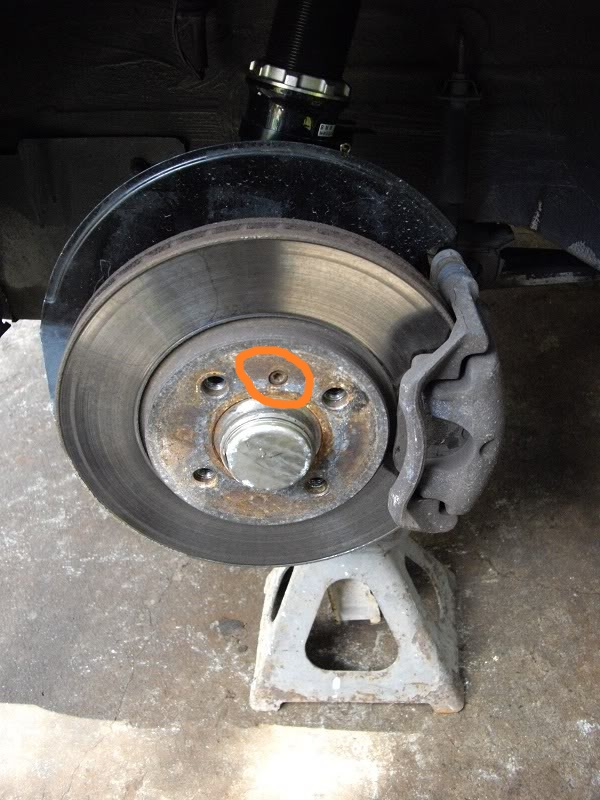 E30 brake disk screw