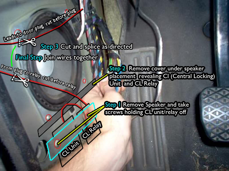 BlkRed_mod two of most common e30 central locking power locking issues and bmw e30 central locking wiring diagram at bayanpartner.co