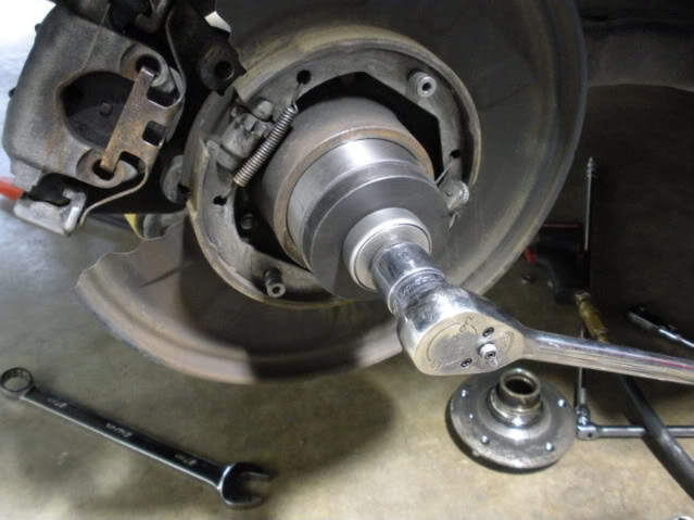 how to change a rear wheel bearing