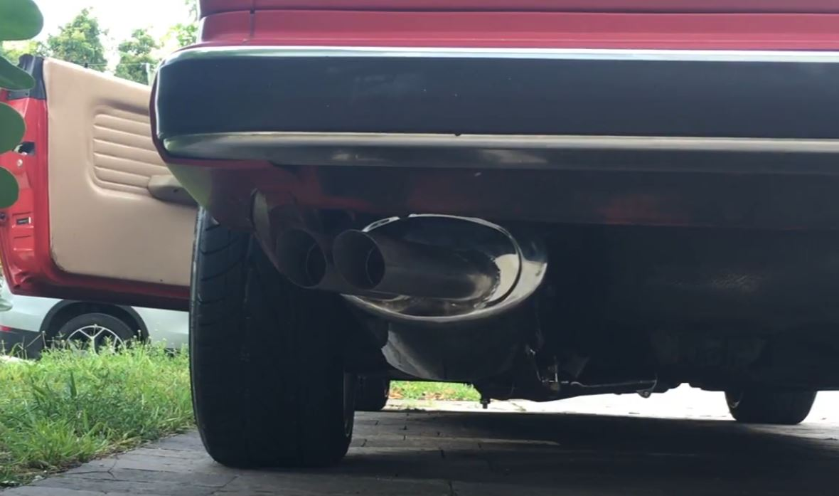 E30 Stainless Steel Exhaust; Sometimes You Get More Than You Pay for